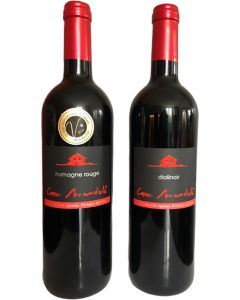 Offre découverte Humagne Rouge et Diolinoir, 2018 - HVE VITISWISS - Cave Mandolé